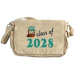 Class of 2028 (Owl) Messenger Bag