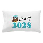 Class of 2028 (Owl) Pillow Case
