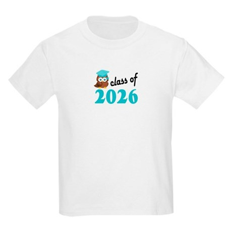 Class of 2026 (Owl) Kids Light T-Shirt