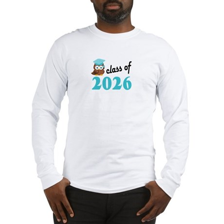 Class of 2026 (Owl) Long Sleeve T-Shirt