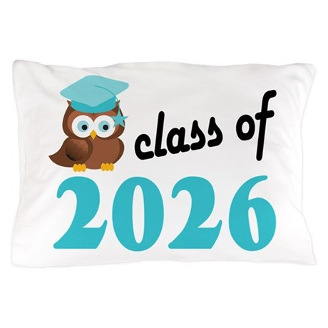 Class of 2026 (Owl) Pillow Case