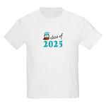 Class of 2025 (Owl) Kids Light T-Shirt