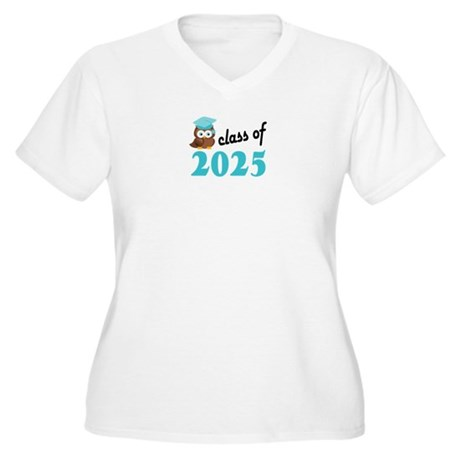 Class of 2025 (Ow Women's Plus Size V-Neck T-Shirt