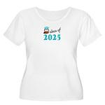 Class of 2025 Women's Plus Size Scoop Neck T-Shirt