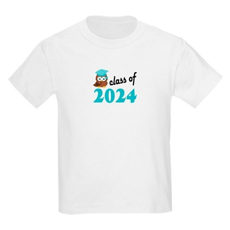 Class of 2024 (Owl) Kids Light T-Shirt