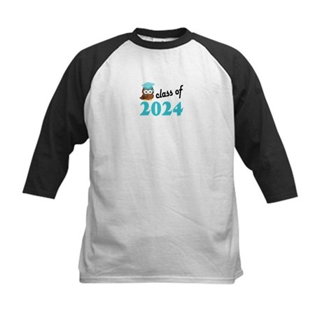 Class of 2024 (Owl) Kids Baseball Jersey