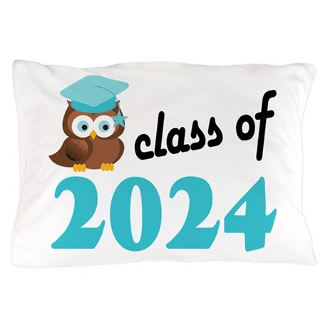 Class of 2024 (Owl) Pillow Case
