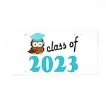 Class of 2023 (Owl) Aluminum License Plate