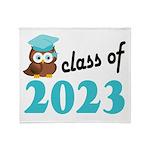 Class of 2023 (Owl) Throw Blanket