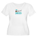 Class of 2023 Women's Plus Size Scoop Neck T-Shirt