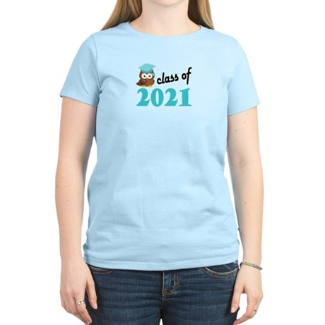 Class of 2021 (Owl) Women's Light T-Shirt