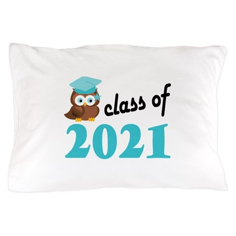 Class of 2021 (Owl) Pillow Case