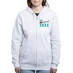 Class of 2021 (Owl) Women's Zip Hoodie