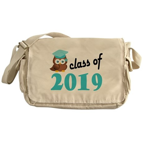 Class of 2019 (Owl) Messenger Bag