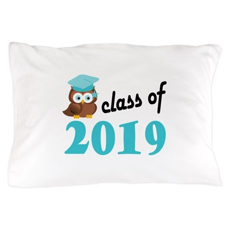 Class of 2019 (Owl) Pillow Case