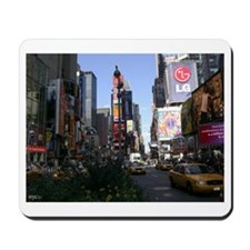 Cute Times square new york Mousepad