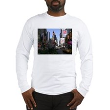 Cute Times square new york city Long Sleeve T-Shirt