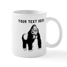 Custom Silverback Gorilla Mugs