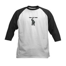 Custom Gorilla Pounding Chest Baseball Jersey
