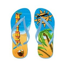 Retired Beach Flip Flops