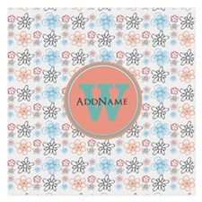 Cute Girly Spring Floral Pe Invitations