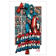 Captain America Classic Wall Art