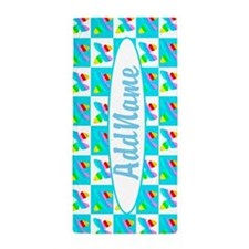 Love Butterflies Beach Towel