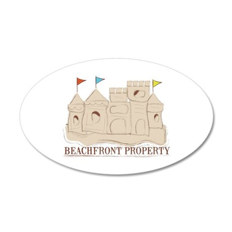 Beachfront Property Wall Decal