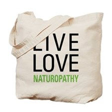 Live Love Naturopathy Tote Bag
