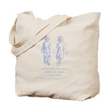 Friends Always in Your Heart Friendship Quote Tote