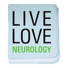 Live Love Neurology baby blanket