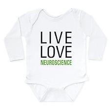 Live Love Neuroscience Long Sleeve Infant Bodysuit