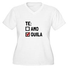 Te Quila Plus Size T-Shirt