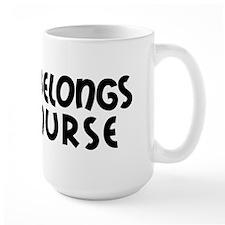 I Heart Nurses Mug