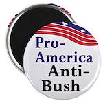 Pro-America Anti-Bush Magnet