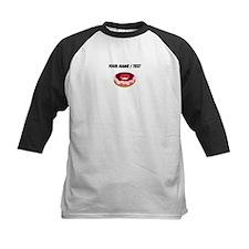 Custom Strawberry Donut Baseball Jersey