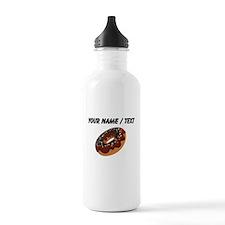 Custom Chocolate Donut Water Bottle