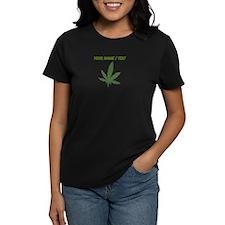 Custom Green Weed Leaf T-Shirt