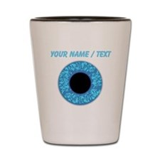 Custom Blue Eye Ball Shot Glass