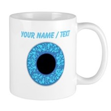 Custom Blue Eye Ball Mugs
