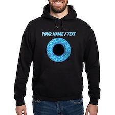 Custom Blue Eye Ball Hoodie