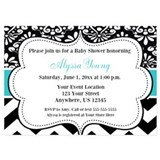 Damask Invitations & Announcements