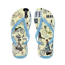 Two Wheels Flip Flops