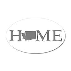 Washington Home 35x21 Oval Wall Decal