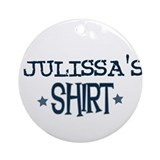Julissa Ornament (Round)