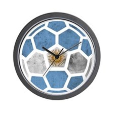 Argentina World Cup 2014 Wall Clock