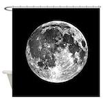 Moon Earth's Moon Shower Curtain