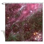 Tarantula Nebula Astronomy Shower Curtain