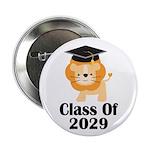"Class of 2029 Graduate (lion) 2.25"" Button"