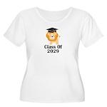 Class of 2029 Women's Plus Size Scoop Neck T-Shirt